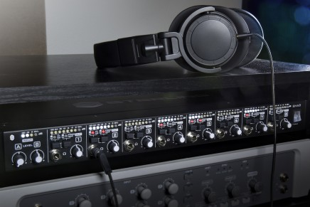 New Dual-Source Headphone Amplifiers Combine Versatility with Sterling Sound Quality