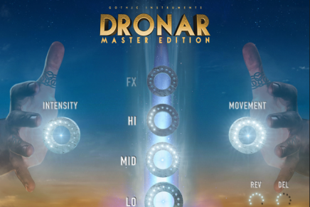 Gothic Instruments release DRONAR Master Edition