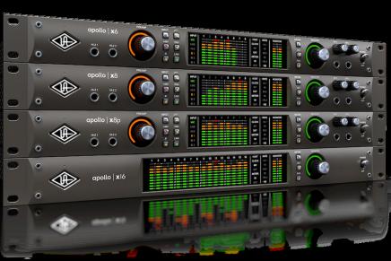 Universal Audio announces new Apollo X thunderbolt 3 audio interfaces