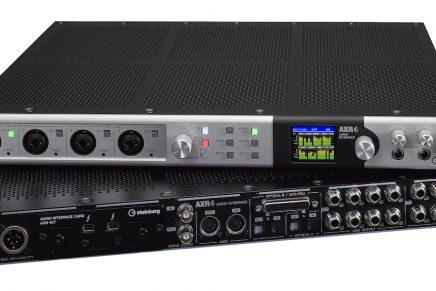 Steinberg announces AXR4 Thunderbolt 2 audio Interface