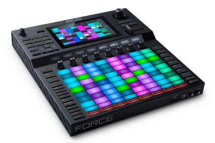 Akai Professional announces Force – standalone music production/DJ performance workstation