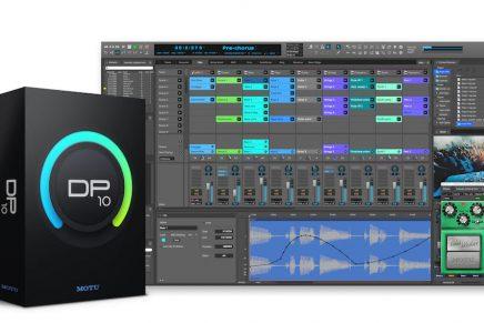 MOTU unveils Digital Performer 10 audio workstation software