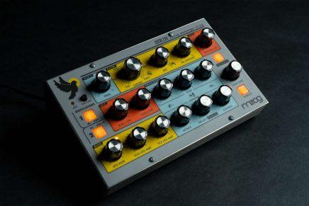 Moog Music unviels the Sirin analog synthesizer