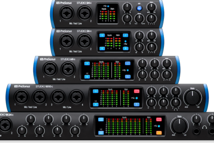PreSonus introduces studio series USB-C audio interfaces