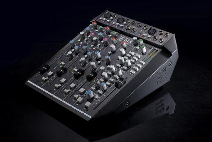 Solid State Logic announces  SiX desktop mixer