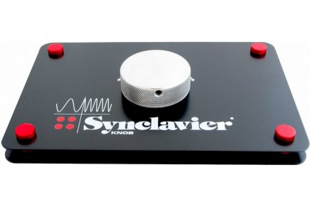 Synclavier original knob from the Synclavier II for iOS apps