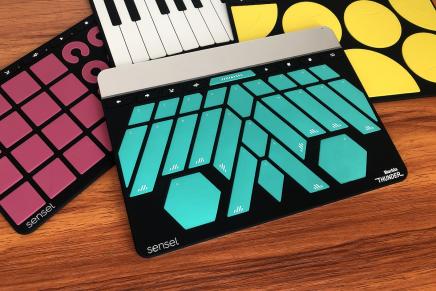 Sensel releases Buchla Thunder Overlay for the MPE capable Morph MIDI controller