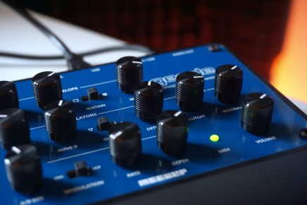 MeeBlip geode synthesizer is the newest from Blipsonic CDM