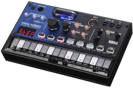 Korg announces the Volca nubass vacuum tube analog bass synthesizer