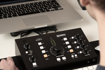 Audient announces Nero desktop studio monitor controller