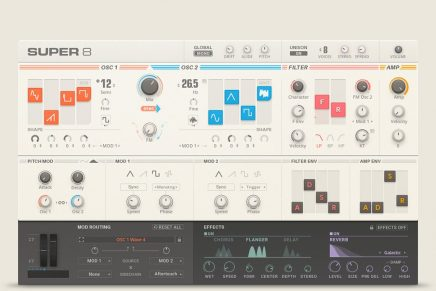 Native Instruments introduces SUPER 8 software plug-in for Reaktor