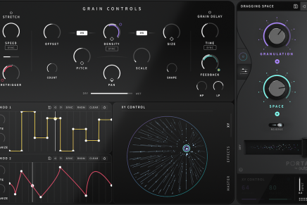 Output releases Granular Synthesis Effect PORTAL