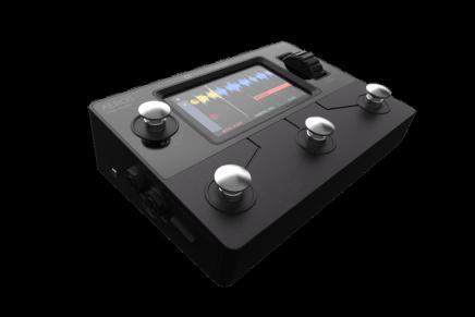 Singular Sound Introduces new looper pedal the Aeros Loop Studio