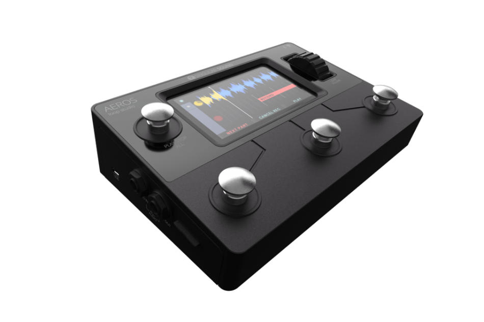 Singular Sound Introduces new looper pedal the Aeros Loop Studio