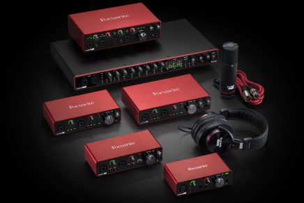 Focusrite launches 3rd generation Scarlett range audio interfaces