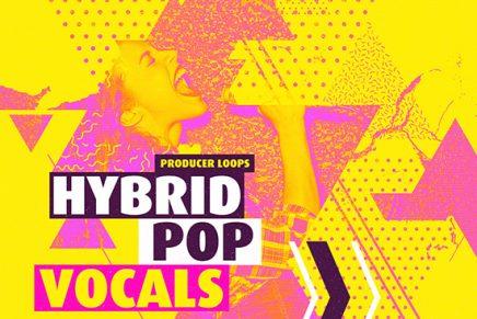 """producerloops.com releases """"hybrid pop vocals"""" sample pack"""