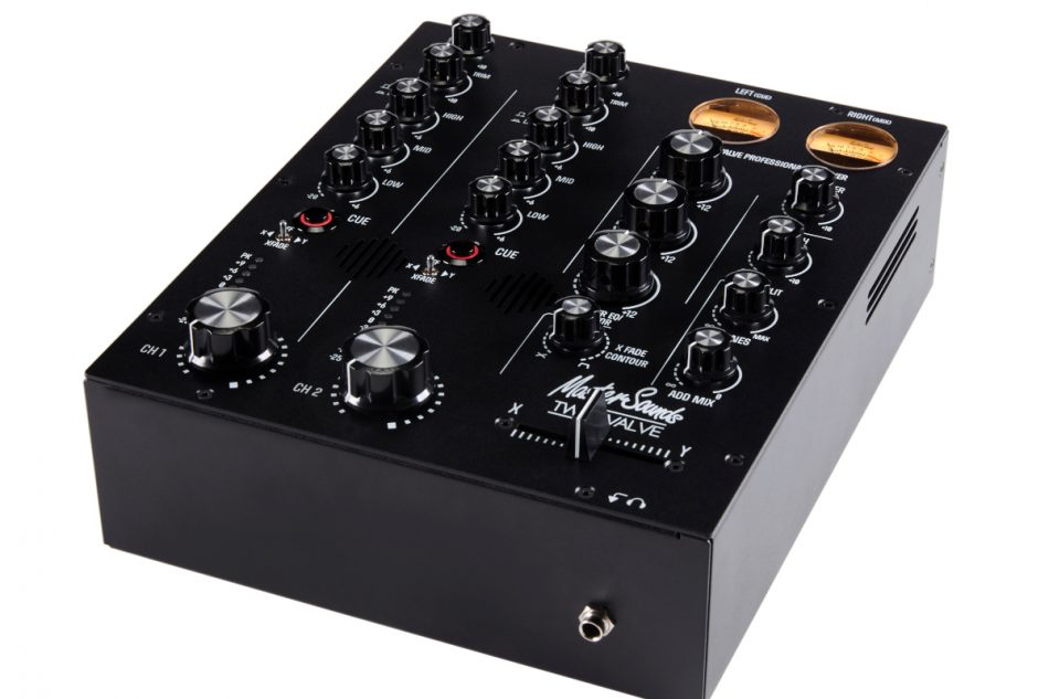 MasterSounds launches Radius TWO VALVE compact DJ mixer