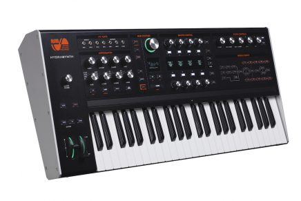 ASM Ashun Sound Machines announce Hydrasynth wave morphing synthesizer