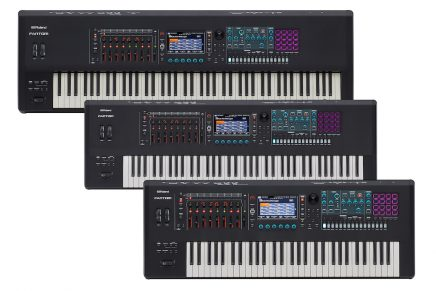 Roland announces new Fantom workstation generation