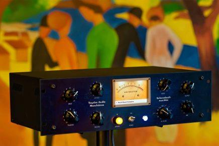 Gearjunkies video – Tegeler Audio Manufaktur Schwerkraftmaschine stereo Vari-Mu compressor