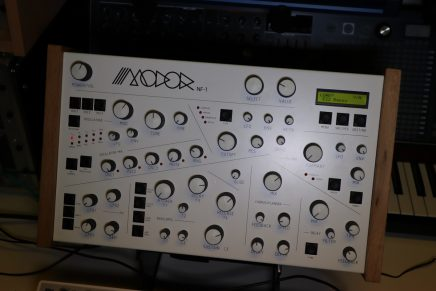 Gearjunkies video – Modor NF-1 digital synthesizer overview and sound demo