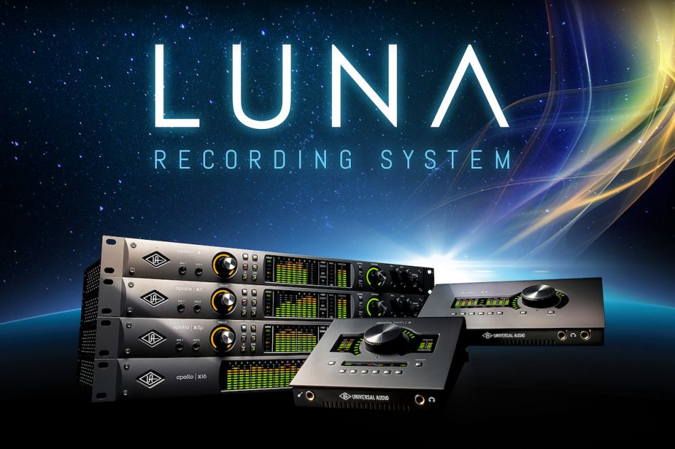 Universal Audio Announces All‑New LUNA Recording System