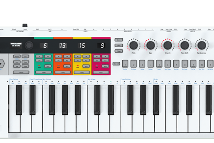 Arturia reveal KeyStep Pro MIDI controller at NAMM 2020