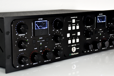 WesAudio announces the ngBusComp VCA bus compressor with plug-in control