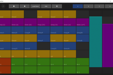 FeelYourSound updates XotoPad MIDI Multi-Touch App for Windows