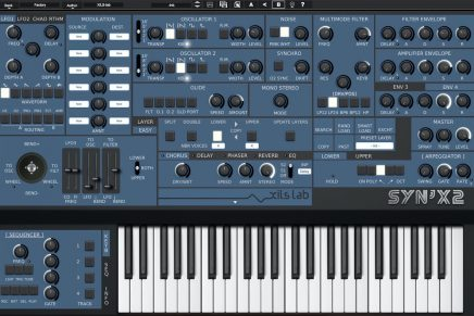 XILS-lab announces Syn'X 2 subtractive synthesis v2.5 upgrade