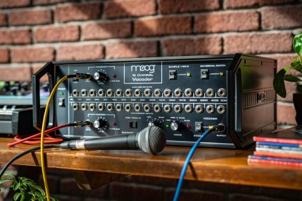 The Moog Vocoder Returns