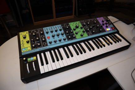 Video – Moog Matriarch paraphonic analog synthesizer overview