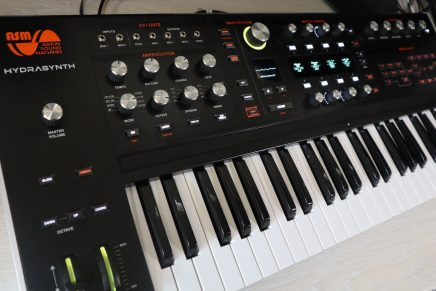 Gearjunkies video – ASM Hydrasynth polyfone wavetable synthesizer sound demo