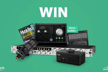 Audient Announces Morale Boosting Gear Giveaway: Just Create
