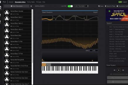 Novation releases wavetable editor for Peak and Summit synthesizer