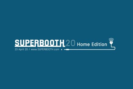 SUPERBOOTH20 Home Edition on April 23 2020