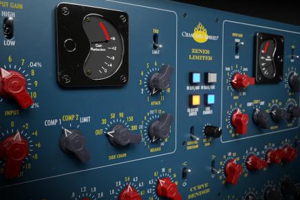 Softube and Chandler Limited release Zener-Bender plug-in channel strip