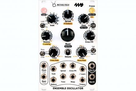 4ms Company & Matthias Puech announces Ensemble Oscillator for Eurorack