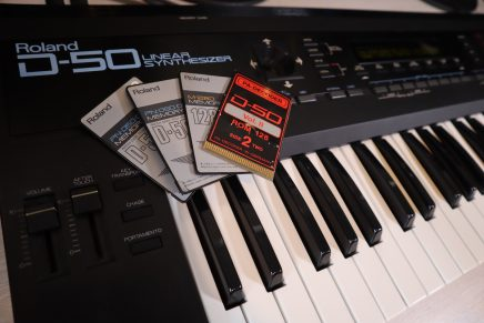 Gearjunkies vlog – pa-decoder soundcard sounds for the Roland d50
