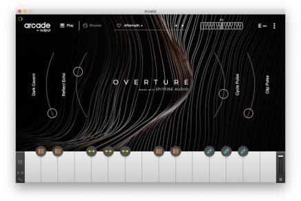Output releases Overture – An ARCADE Line in collaboration with Spitfire Audio