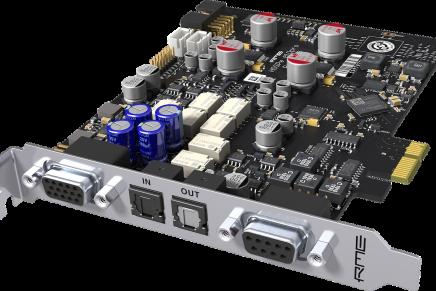 RME announces new HDSPe AIO Pro PCI Express Audio Interface