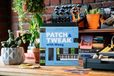 Kim Bjørn announces new book – PATCH & TWEAK with Moog