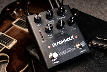 Eventide announces Blackhole Reverb Pedal