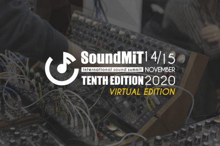 Reminder! Soundmit 2020 the virtual edition this weekend 14-15 Nov 2020