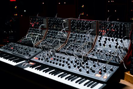 Moog dark series design for the Matriarch and Grandmother