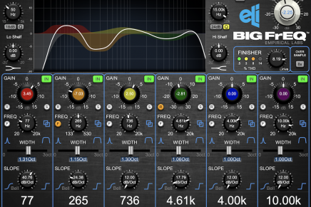 Empirical Labs announces availability of its BIG FrEQ plug-in