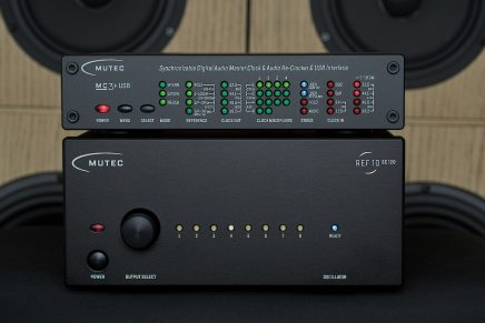 MUTEC presents REF10 SE120: The Ultimate 10 MHz Reference Master Clock