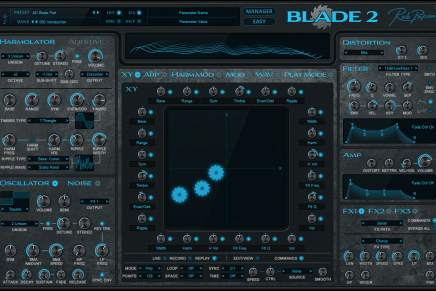 Rob Papen announces BLADE 2 software synthesizer