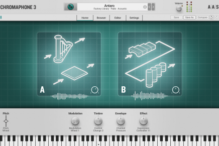 Applied Acoustics Systems releases the Chromaphone 3