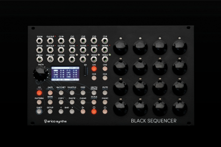 Erica Synths Announces Black Sequencer